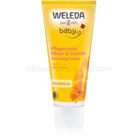 Weleda Baby and Child detský ochranný krém na telo a tvár nechtík 75 ml