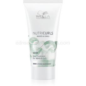 Wella Professionals Nutricurls Waves & Curls uhladzujúca maska pre vlnité a kučeravé vlasy 30 ml