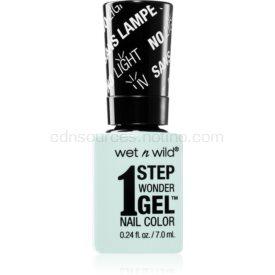 Wet N Wild 1 Step Wonder Gel gélový lak na nechty bez použitia UV/LED lampy odtieň Pretty Peas 7 ml