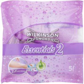 Wilkinson Sword Essentials 2 jednorázový holiací strojček 5 ks pre ženy 5 ks