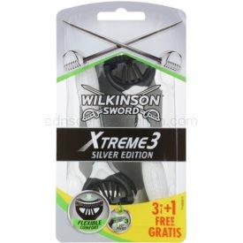 Wilkinson Sword Xtreme 3 Silver Edition jednorázové holiace strojčeky 4 Ks