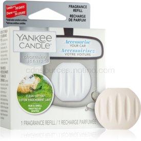 Yankee Candle Clean Cotton vôňa do auta náhradná náplň