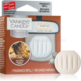 Yankee Candle Leather vôňa do auta náhradná náplň
