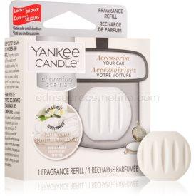 Yankee Candle Fluffy Towels vôňa do auta náhradná náplň