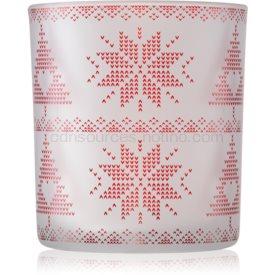 Yankee Candle Red Nordic sklenený svietnik na votívnu sviečku