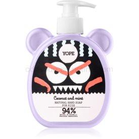 Yope Coconut & Mint tekuté mydlo na ruky pre deti 400 ml