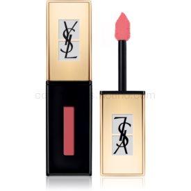 Yves Saint Laurent Vernis À Lèvres Pop Water rúž a lesk na pery 2 v 1 s mokrým efektom odtieň 203 Eau de Corail 6 ml