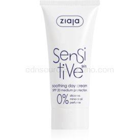 Ziaja Sensitive upokojujúci krém pre suchú pleť so sklonom k svrbeniu SPF 20 50 ml