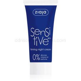 Ziaja Sensitive spevňujúci nočný krém proti vráskam pre citlivú pleť 50 ml