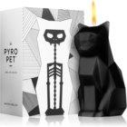 54 Celsius PyroPet KISA (Cat) dekorativní svíčka 17 cm Black