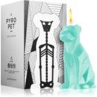 54 Celsius PyroPet VOFFI (Dog) dekoratívna sviečka 18 cm Mint