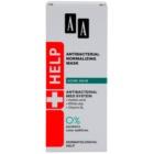 AA Cosmetics Help Acne Skin masque normalisant antibactérien