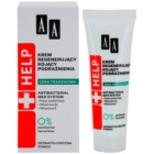 AA Cosmetics Help Acne Skin Kalmerende Nachtcrème met Regenererende Werking