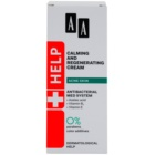 AA Cosmetics Help Acne Skin Beruhigende Nachtcreme mit regenerierender Wirkung
