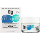 AA Cosmetics Collagen HIAL+ nočný vyhladzujúci krém 30+