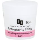 AA Cosmetics Dermo Technology Anti-Gravity Lifting crème stylisante anti-rides 55+