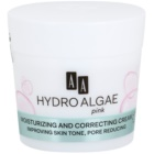 AA Cosmetics Hydro Algae Pink Egaliserende Crème  voor Hydratatie en Poriën Minimalisatie