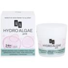 AA Cosmetics Hydro Algae Pink уеднаквяващ крем за хидратиране на кожата и минимизиране на порите