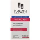 AA Cosmetics Men Vital 40+ crema antirughe anti-age