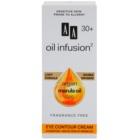 AA Cosmetics Oil Infusion2 Argan Marula 30+ crema contur pentru ochi cu efect de hidratare