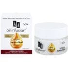 AA Cosmetics Oil Infusion2 Argan Inca Inchi 50+ crema de zi cu efect lifting  antirid