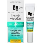 AA Cosmetics Age Technology Youthful Vitality crème hydratante et lissante yeux 30+