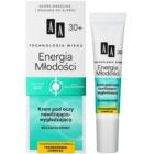 AA Cosmetics Age Technology Youthful Vitality krema za oči za hidrataciju i zaglađivanje  30+