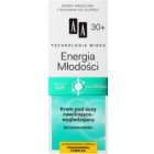 AA Cosmetics Age Technology Youthful Vitality Hydraterende en Egaliserende Oogcrème 30+
