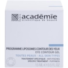 Academie All Skin Types vyhlazující oční gel proti otokům