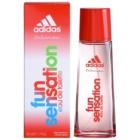 Adidas Fun Sensation Eau de Toilette voor Vrouwen  50 ml