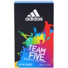 Adidas Team Five Eau de Toillete για άνδρες 100 μλ