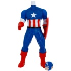 Admiranda Avengers Captain America 3D bain moussant et gel douche 2 en 1 pour enfant