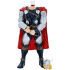 Admiranda Avengers Thor 3D espuma de banho e gel de duche 2 em 1 para crianças
