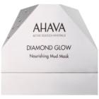 Ahava Diamond Glow vyživující maska s bahnem z Mrtvého moře a čistým diamantovým prachem