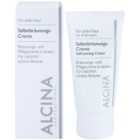 Alcina For All Skin Types crème auto-bronzante visage