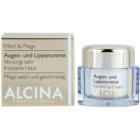 Alcina Effective Care Creme für Augen und Lippen mit glättender Wirkung