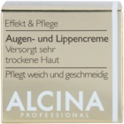 Alcina Effective Care krema za predel okoli oči in ustnic z gladilnim učinkom