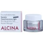 Alcina For Sensitive Skin crema facial suave para calmar y fortalecer pieles sensibles