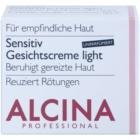 Alcina For Sensitive Skin jemný pleťový krém pre upokojenie a posilnenie citlivej pleti