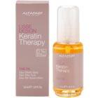 Alfaparf Milano Lisse Design Keratin Therapy óleo nutritivo  para todos os tipos de cabelos