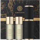 Amouage Jubilation 25 Men eau de parfum pour homme 3 x 10 ml (1x rechargeable + 2x recharge)
