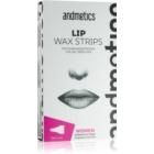 andmetics Wax Strips voskové depilačné pásiky na hornú peru