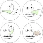 andmetics Wax Strips voskové depilační pásky na horní ret