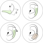 andmetics Ear восъчни ленти за обезкосмяване на уши