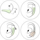 andmetics Wax Strips bandes de cire pour épilation oreilles