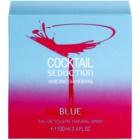 Antonio Banderas Cocktail Seduction Blue Eau de Toilette for Women 100 ml