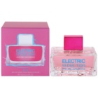 Antonio Banderas Electric Seduction Blue Eau de Toilette Damen 100 ml
