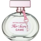 Antonio Banderas Her Secret Game eau de toilette pour femme 80 ml