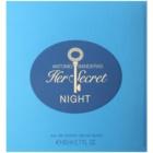 Antonio Banderas Her Secret Night Eau de Toilette para mulheres 80 ml