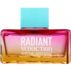 Antonio Banderas Radiant Seduction Blue eau de toilette pour femme 100 ml